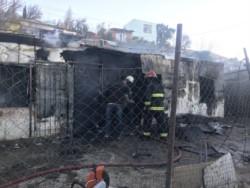 Tres personas murieron y varios menores fueron rescatados (foto @ornellavezzoso)