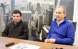 Precaución. Frisson (izquierda) y Garzonio explicaron la necesidad de tener cuidado con las gestiones.