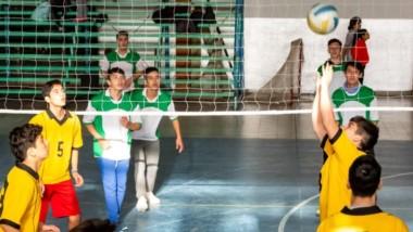 Continúan desarrollándose con una excelente concurrencia los Juegos Evita Deportivos locales en Rawson.