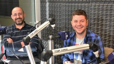 """Germán Sánchez relató su experiencia en el programa """"Suban El Volúmen"""", por FM Tiempo Trelew."""