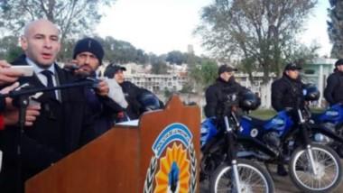 Definiciones. El ministro recordó al cabo Omar Corzo y explicó cuál es su idea para el futuro de la Policía.