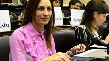 Carla Pitiot se crió en Trelew y participó de la cumbre de Massa con el PJ.