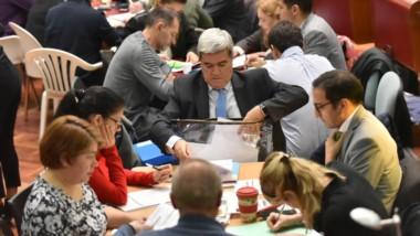 Votos. Hubo un avance muy importante en el día de ayer y para hoy se espera terminar todo el proceso de conteo de la provincia en Legislatura.