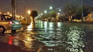 El jueves en Trelew cayeron cerca de 20 milímetros en pocas horas y se hizo sentir con el anegamientos en diferentes sectores de la ciudad.
