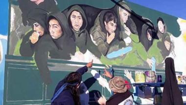 Una imagen para resumir la historia. Los murales también comunican identidad.