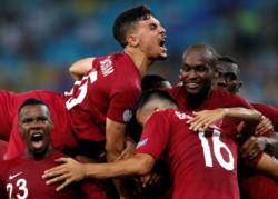 Qatar, la selección invitada del torneo, amarga el debut de Paraguay.
