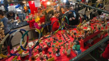Una gran variedad de artesanías y productos regionales se exhiben en los Stands del Encuentro.