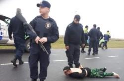 Roberto Omar Alí fue arrestado tras una persecución en una ruta de la localidad de Aguas Verdes.
