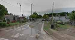 La zona donde ocurrió el hecho. (Foto: Google Street View)