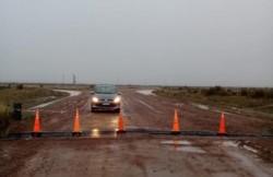 Los caminos a Península Valdés están cerrados (foto Ángel Daniel Rossitto)