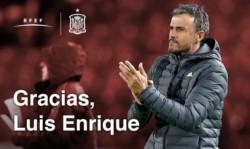 Por problemas personales, Luis Enrique no continuará como DT de España.