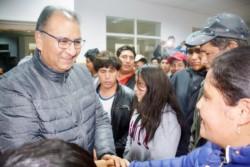 El embajador de Bolivia en Argentina se reunió con productores del VIRCh