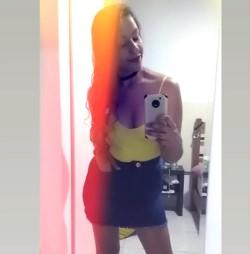 Pamela Caceres denunció en Facebook el acoso que sufrió en una tienda de ropas.