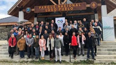 Funcionarios y prestadores turísticos lanzaron desde Lago Puelo el nuevo Corredor de los Andes.