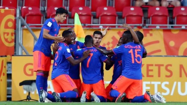 Colombia pasó a cuartos de final, tras vencer por penales a Nueva Zelanda.
