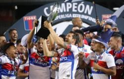 Tigre consiguió su primer título en la máxima categoría.