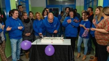 La comunidad educativa de la EMAL realizó un emotivo acto, acompañada por la Municipalidad de Rawson.