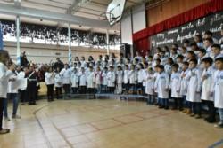 Alumnos de la Escuela Nº 40 prometieron lealtad a la bandera