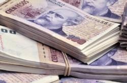 El comprobante con los más de 9 millones de pesos depositados al joven.