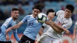 Uruguay no pasó del empate con Japón y juega el lunes con Chile en el Maracaná.