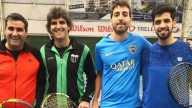 D'Almeida-Morado y  Gatica-Rubio, las duplas  finalistas en la categoría 2da Caballeros.