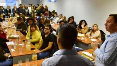 Maderna hizo hincapié en la importancia de poder fomentar la cultura del trabajo.
