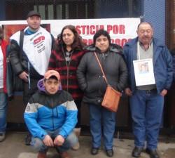 Guillermo Garrido (a la derecha) pidió justicia por su hijo Coco hasta su último aliento.