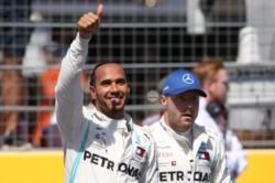 Hamilton logra su 4ta victoria seguida y 6ta de la temporada en tan solo 8 carreras.
