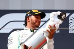 Hamilton vuelve a mandar en otro doblete de Mercedes.