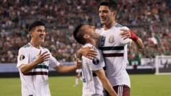 Ajustado triunfo de México. Martinica recaudó fondos por Internet para poder competir en la Copa Oro.