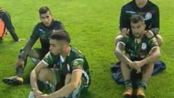 Bochornoso final en la definición por el ascenso a la B Nacional: San Jorge de Tucumán protestó con una sentada y se retiró.