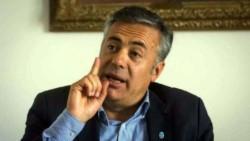 El gobernador radical de Mendoza, Alfredo Cornejo, afirmó que sería