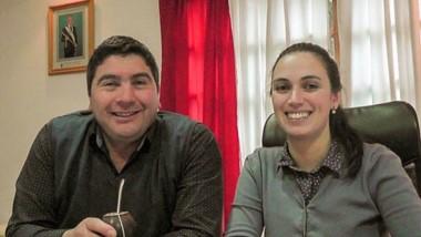 Daniel Cárdenas y Gisel Cortés encabezan la lista de Chubut al Frente en El Hoyo.