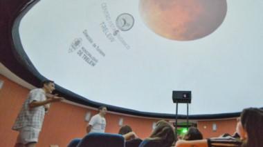 Días previos al eclipse se realizará una charla  y una visita guiada al Centro Astronómico.
