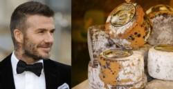 El queso hecho con bacterias de los pies de David Beckham, es uno de los más olorosos de la muestra.