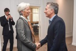 """Lagarde ratificó su apoyo a Macri: """"Los esfuerzos comienzan a dar resultados""""."""