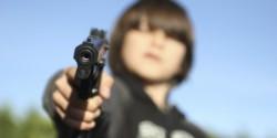 Pistolón calibre 45.
