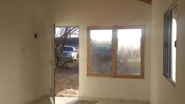 Flamante. Hace 7 meses un incendio destruyó la vivienda de una familia que ahora tendrá este nuevo hogar.