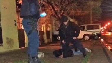 Los sujetos fueron capturados cuando intentaban ingresar al local.