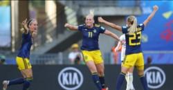 Suecia hace historia y elimina a Alemania, tras empezar perdiendo. Le gana después de 25 años.
