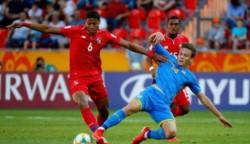 Panamá fue goleada por Ucrania y se despide del Mundial Sub 20.