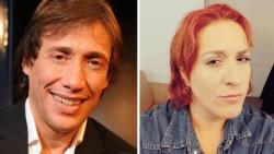 La actriz Fernanda Meneses (D) denunció penalmente al actor Fabián Gianola por un presunto hecho de abuso sexual.