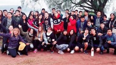 Los jóvenes están alojados en la planta de Embalse Río Tercero, en el corazón de las sierras de Córdoba.