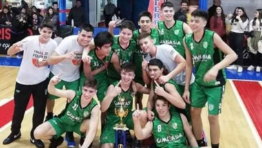 """El """"Verde"""" comodorense se proclamó campeón de la LPC 2019 en la categoría U15 en Puerto Madryn."""