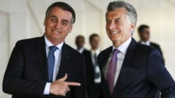 El presidente Mauricio Macri recibirá a su par de Brasil, Jair Bolsonaro.