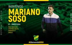 Mariano Soso es el nuevo DT de Defensa y Justicia. Firma contrato por un año. Lo presentan el lunes.