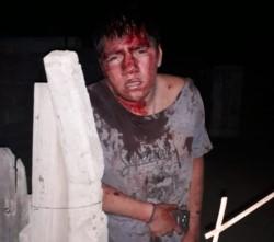 Domínguez fue golpeado durante el robo y después apuñaló a un delincuente