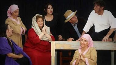 """El grupo teatral """"Máscaras"""", bajo la dirección de Dagui Fitterling, sube a escena el próximo fin de semana."""