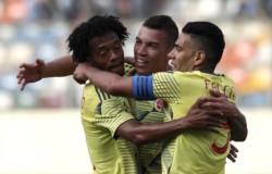 Con un doblete de Uribe y un gol de Duván Zapata en un partido súper picante, la Tricolor venció 3-0 a Perú en el Monumental de Lima.