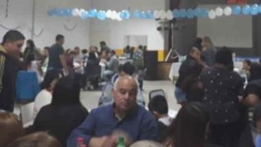 Alrededor de 200 personas asistieron al aniversario del club.